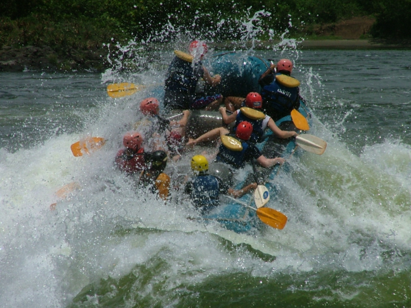 5 Gap Year Travel Ideas - #2 White water rafting