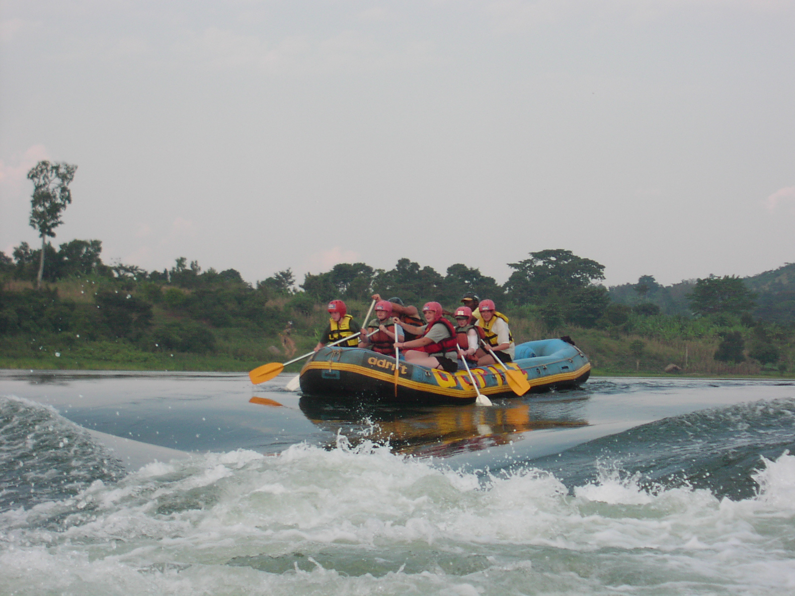 White water rafting - things to do in India