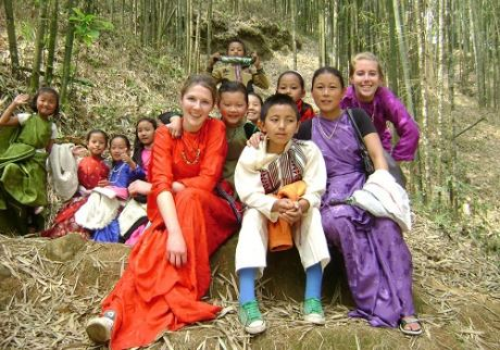 Stay in the Lepcha community on a Gap Year with friends