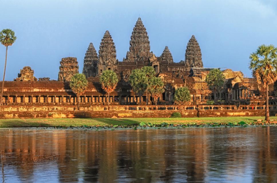 Adventure travel to Ankor Wat