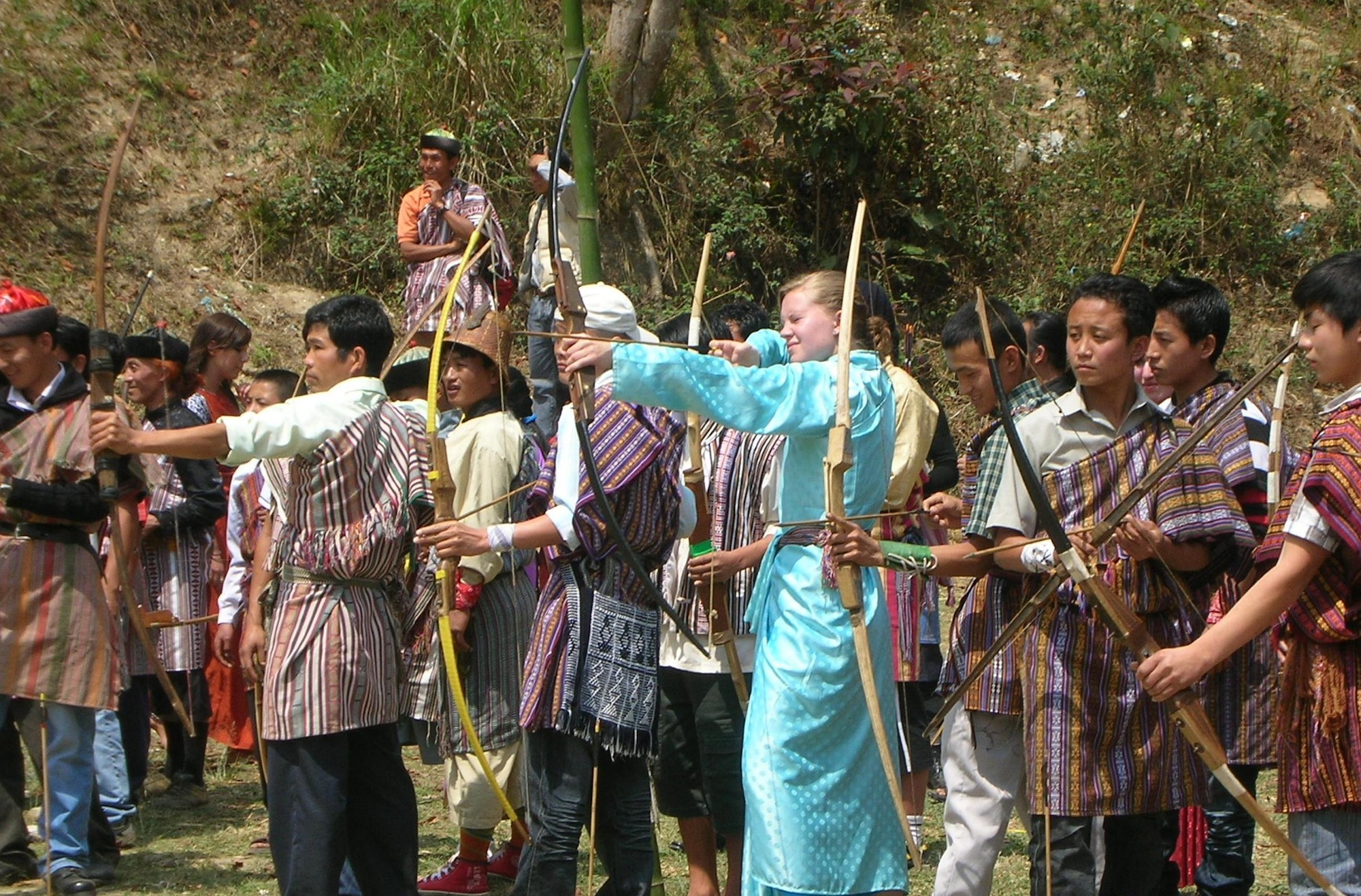 Try archery on your Gap Year in India