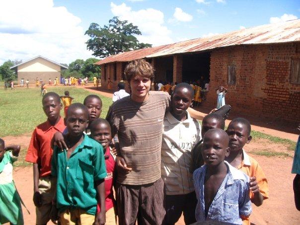Gareth in Uganda 2007