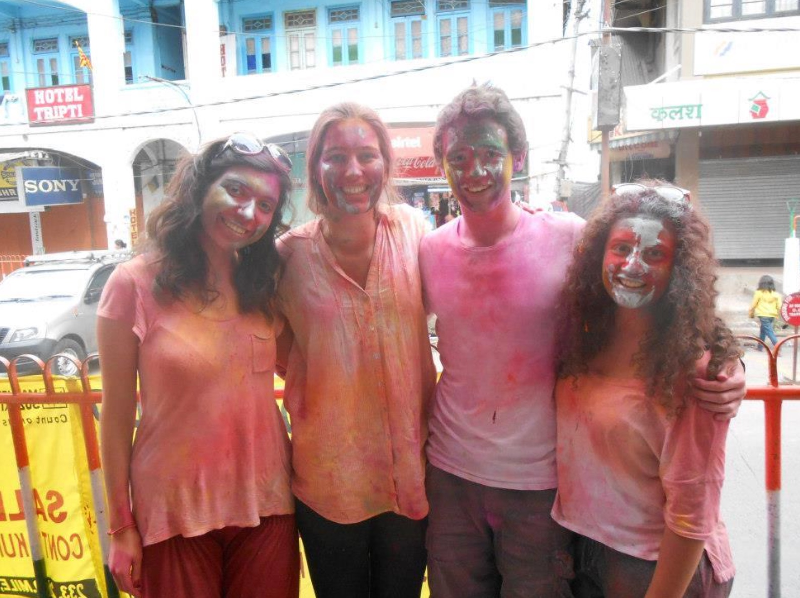 Gap year programs in India - Holi festival