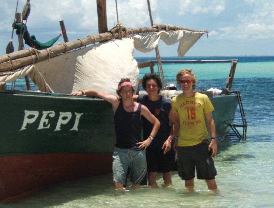 Get out on the water on a gap year in Africa