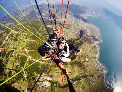 Paragliding - things to do in India