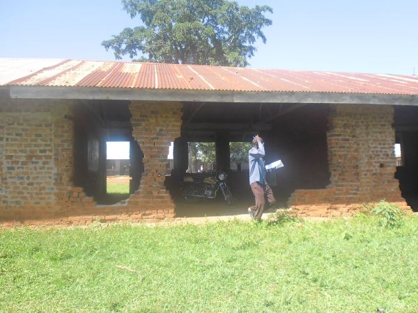 Renovation of a school building at Kasokwe Primary School