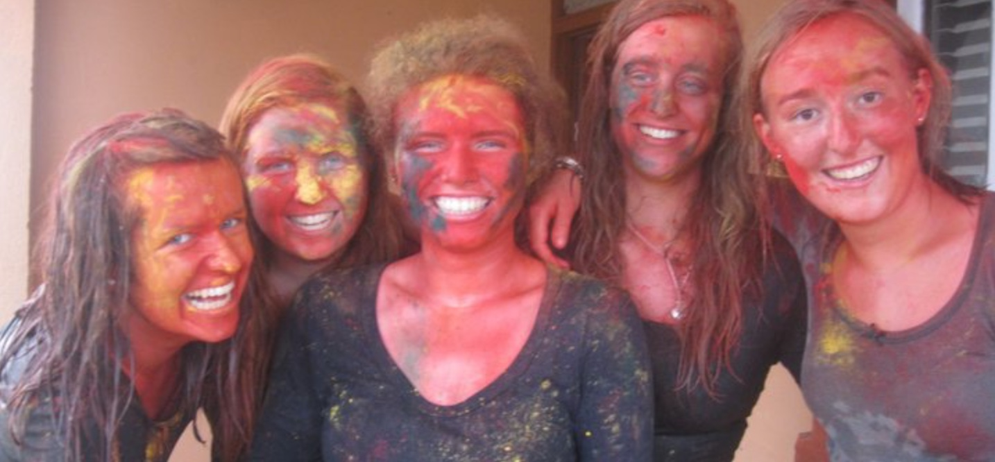AVs at the Holi Festival, adventures in Nepal