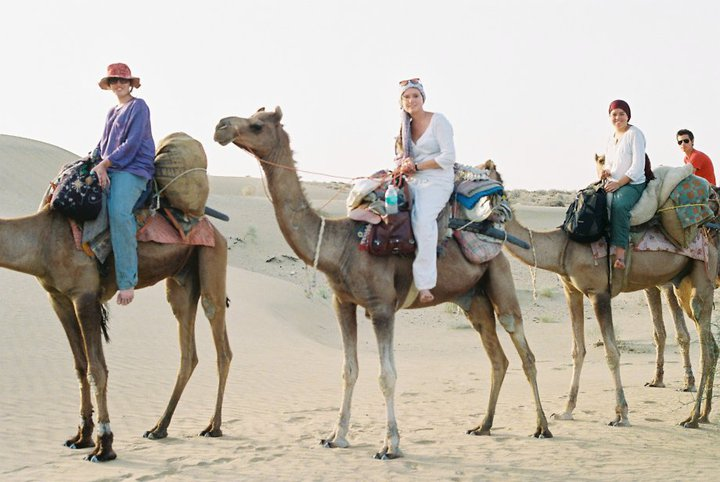Go on a Camel Safari during your Gap Year in India