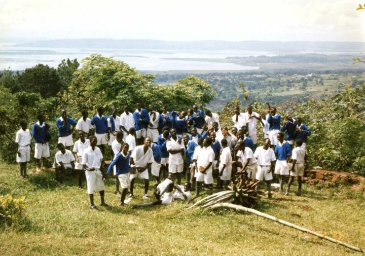 Uganda 1996 class of Chris Bain