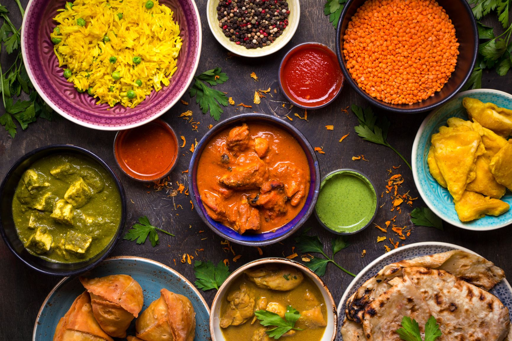 Enjoy the Indian cuisine on your Gap Year to India