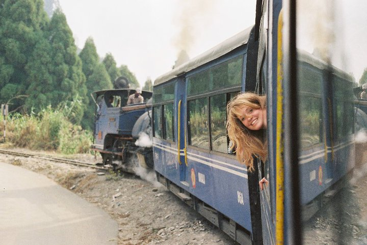take the toy train on a gap year in Asia